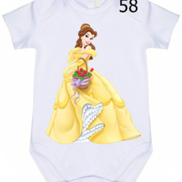 Body Infantil Personalizado Bela #58 (colocamos o nome)