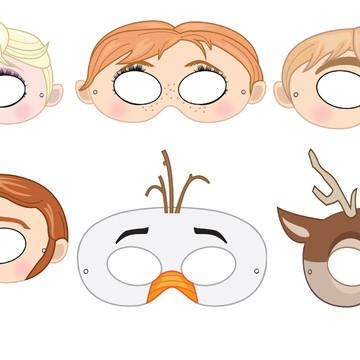 Máscaras Frozen