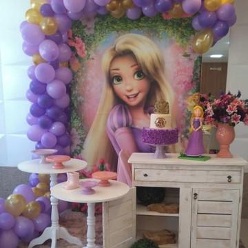 Decoração Rapunzel (Locação Brasilia DF) Party pocket