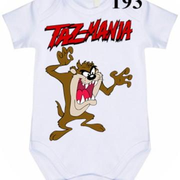 Body Personalizado Taz Mania #193 (colocamos o nome)