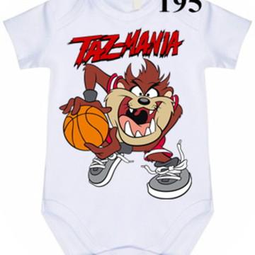 Body Personalizado Taz Mania #195 (colocamos o nome)