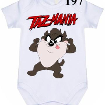 Body Personalizado Taz Mania #197 (colocamos o nome)