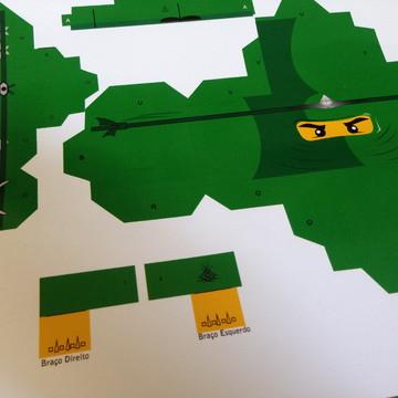 Paper Toy para Montar - Ninjas