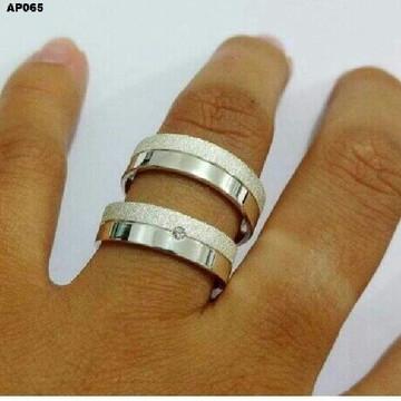 Aliança em Prata Legitima - Namoro ou Compromisso
