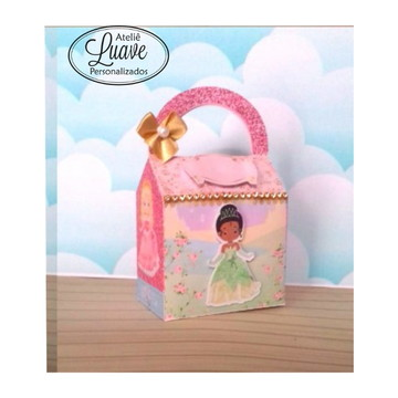 bolsinha do kit festa infantil Princesa Cute