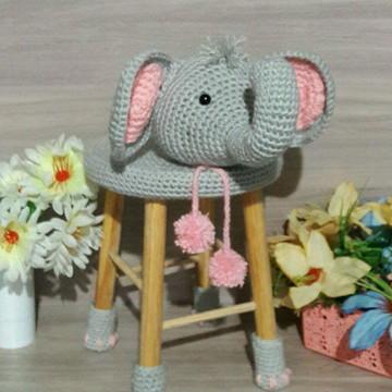 Banquinho completo de elefante