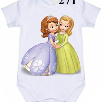 Body Personalizado Princesa Sofia #271 (colocamos o nome)