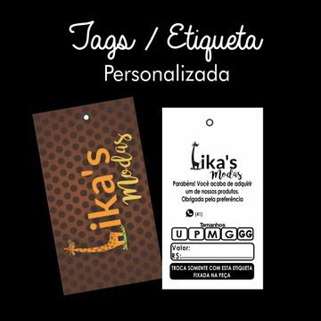 074381b76 5000 Etiqueta Tag Personalizada para Sua Marca Roupas