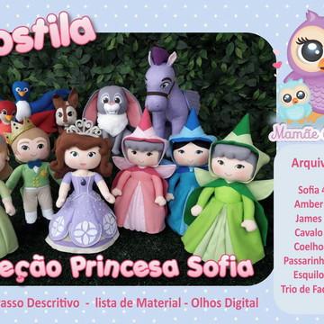 Apostila - Coleção Princesa Sofia (11 bonecos)