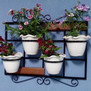 Floreira de parede, suporte para plantas