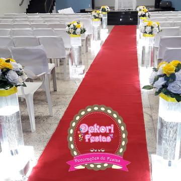 Locação de decoração para cerimonia de casamento