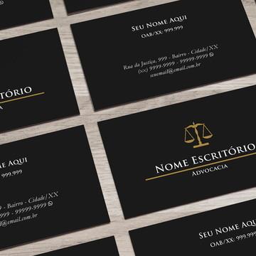 Cartão de Visita Advogado M0002