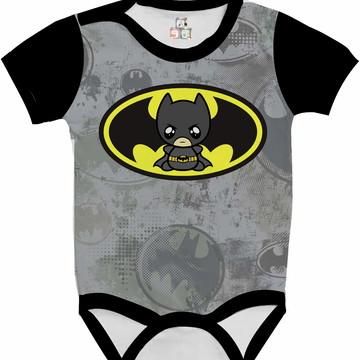 Body Bebê Camisa Infantil Personalizada Batman DC 19 HD