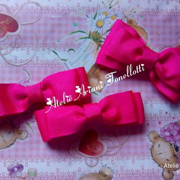 Kit de lacinhos rosa