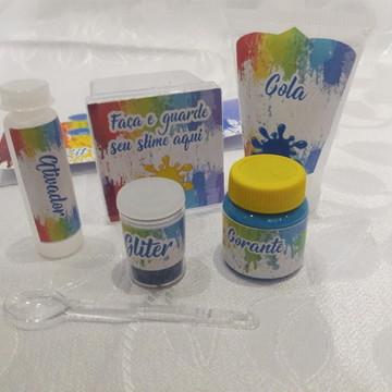 Kit Slime Embalagem Personalizada