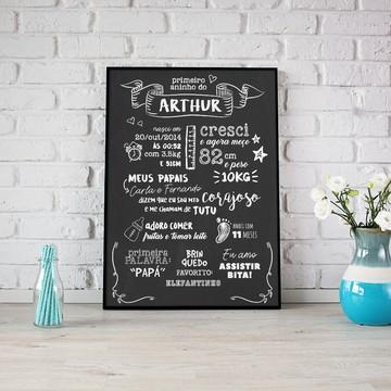 Chalkboard Digital - Meu Primeiro Aninho
