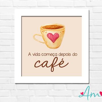 Quadro Xícara de Café