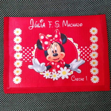 Necessaire para kit higiene Mickey Lembrança festa