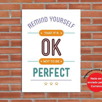 Poster Digital Frase (Arquivos A3 para download)