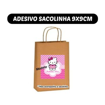 Adesivo Sacolinha Hello Kitty