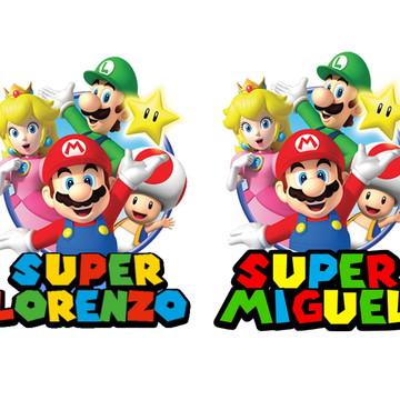 Adesivo Super Mario Bros