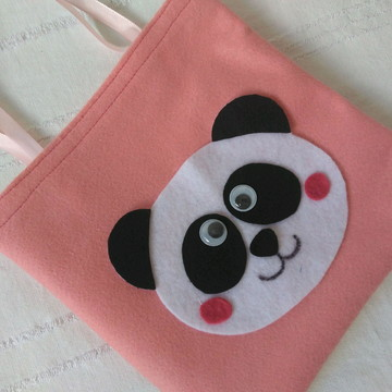 Lembrancinha panda sacolinha