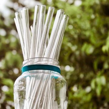 Canudo de Vidro Ecológico