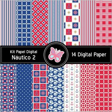 Kit Papel Digital Náutico