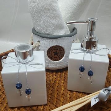 Kit 2 peças - Aromatizador e Sabonete Líquido