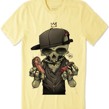Camiseta Caveira Susa