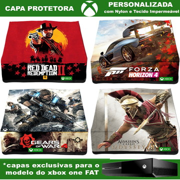Capa Xbox One Fat Em Nylon Personalizada