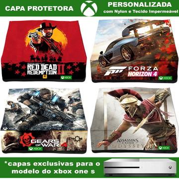 Capa Xbox One S Protetora Em Nylon Personalizada