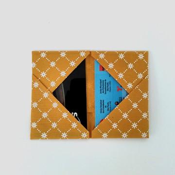 Porta Cartão Orinuno Yellow