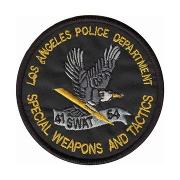 Patch Bordado - Lapd Policia Los Angeles Eua Usa PL60361