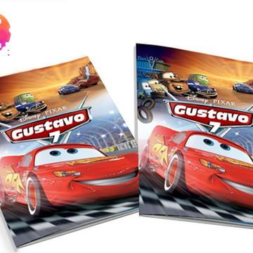 Livro para colorir Carros Disney