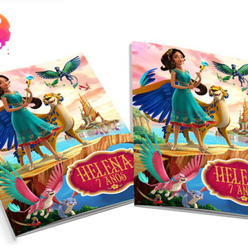 Livro para colorir Elena de Avalor