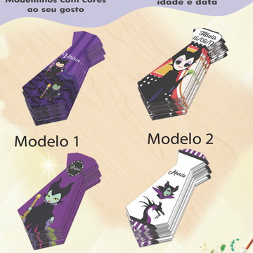 Adesivo(formato gravata)-Malevola