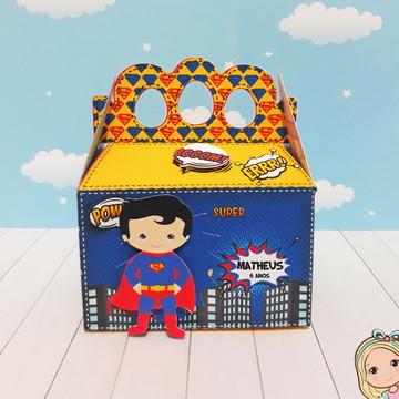 Mini Maletinha Super Man