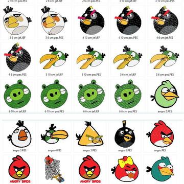 Ref_60108 - Matriz Angry Birds - Para Maquinas De Bordar