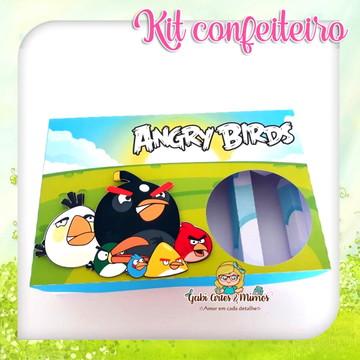 Kit Mini Confeiteiro Angry Birds
