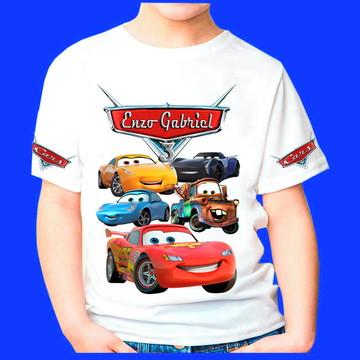 Camiseta Personalizada Carros 5
