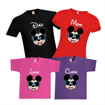 Camisetas Viagem Disney mickey