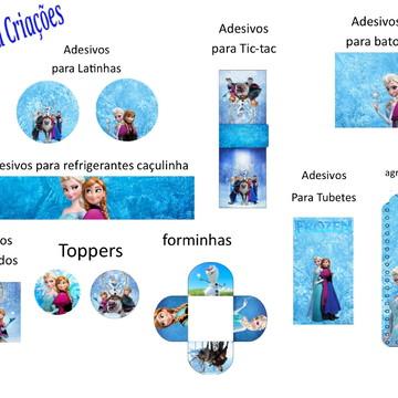 Kit Arte Digital Frozen