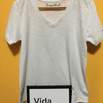 13cb780693 Camiseta Básica Branca