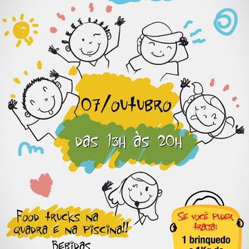 Convite Digital Festa Crianças