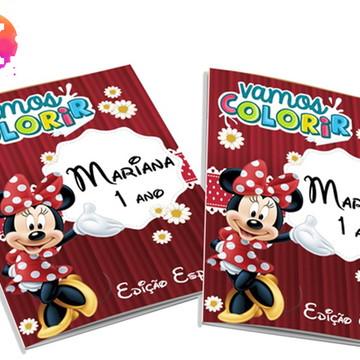 Livro para colorir Minnie