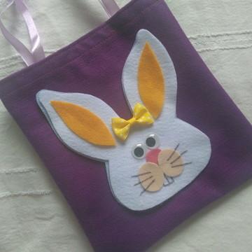 Sacolinha coelho Páscoa
