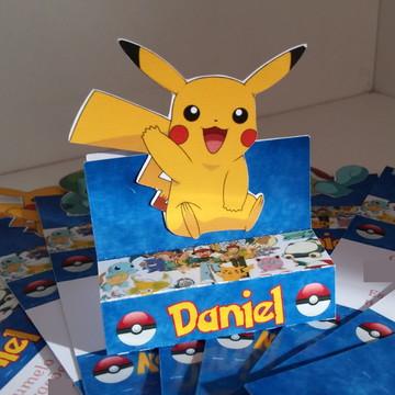 Porta chocolate duplo Pokémon