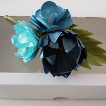 Flor de Lapela - Boutonniere - Lapela Paletó
