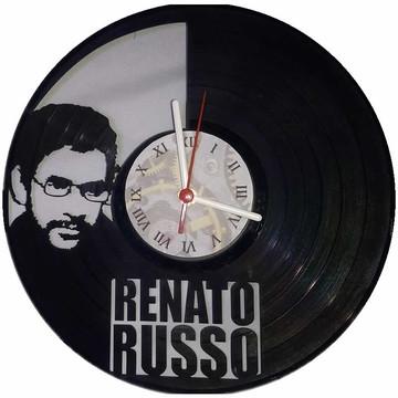 Relógio em disco de Vinil - Renato Russo